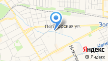 Сеть магазинов алкогольных напитков на карте