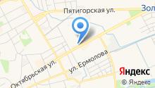 Федеральная кадастровая палата Росреестра по Стравропольскому краю на карте