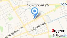 Федеральная кадастровая палата Росреестра по Стравропольскому краю, ФГБУ на карте