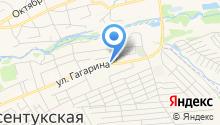 Сильва на карте
