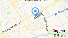 Детский сад №13, Радуга на карте