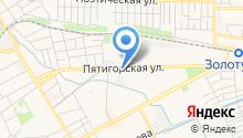 Ессентукская городская организация профсоюза работников здравоохранения РФ на карте