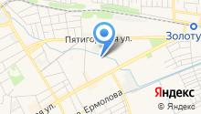 Средняя общеобразовательная школа №4 им. М.А. Горького на карте