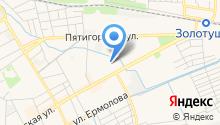 Ставрополькоммунпроект на карте
