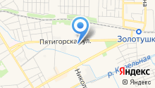 Почтовое отделение №25 на карте