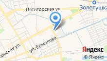 Территориальный орган Федеральной службы государственной статистики по Ставропольскому краю на карте