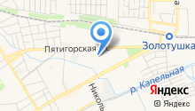 Детский сад №21, Ёлочка на карте