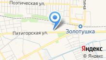 Минеральные Воды Ставрополья на карте