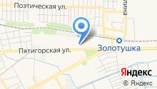 Югпром на карте
