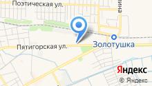 Данко, ЗАО на карте