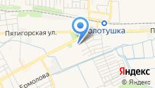 Ессентукская центральная городская больница на карте