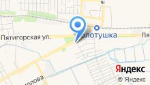Ставропольская водно-пивная компания на карте