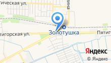 Go26.ru на карте