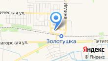 Российский университет дружбы народов на карте
