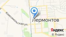 Лермонтовский комплексный центр социального обслуживания населения на карте