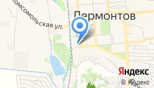 Отдел МВД России по г. Лермонтову на карте