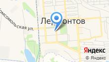 Прокуратура г. Лермонтова на карте