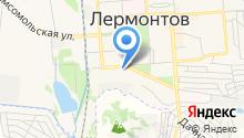 Отдел №29 Управления Федерального казначейства по Ставропольскому краю в г. Лермонтове на карте