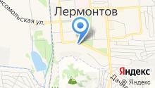 Лермонтовский городской суд на карте