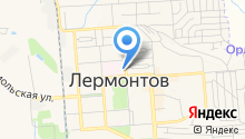 Клиническая больница №101 г. Лермонтова на карте