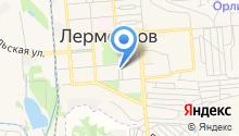 ЗАГС г. Лермонтова на карте