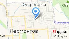 Лермонтовгоргаз, МУП на карте