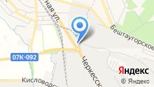 Алкор на карте