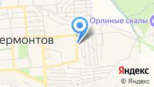 Мировые судьи г. Лермонтова на карте