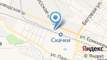 Керамика-Волга-Пятигорск на карте