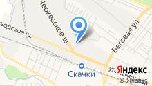 Газпром газораспределение Ставрополь на карте