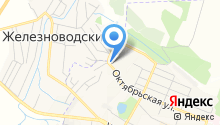 Управление Пенсионного фонда РФ по г. Железноводску на карте