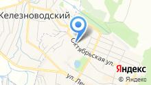 ТВОЁ Железноводск на карте