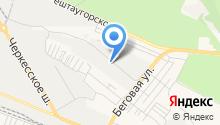 Государственный региональный центр стандартизации, метрологии и испытаний на карте