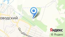 Мемориал, МУП на карте