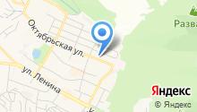 Отдел Военного комиссариата по г. Железноводску на карте