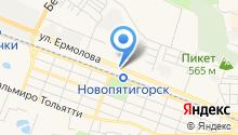 ДЕЛЬТА КРЕП на карте
