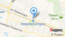 Калина Автогаз на карте