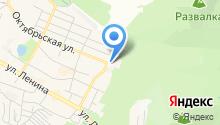 Городская больница г. Железноводска на карте