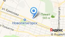Астрал-КМВ на карте