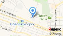 КИА-центр-Пятигорск на карте