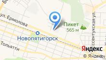 Кайрос Плюс на карте