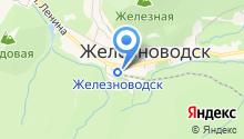 бюро путёвок *железноводск- курорт* на карте