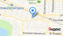 Бизнес план - Написание бизнес планов в Пятигорске на карте