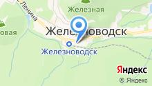 Центр занятости населения г. Железноводска на карте