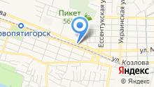 ИНТЕРСТРОЙ-СК на карте