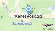 Царинной на карте