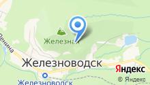 Славяновский бювет №2 на карте