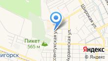 My Way to move на карте