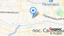 Кадастровый инженер Братченко И.В. на карте