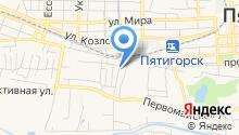 Аква-Теберда на карте